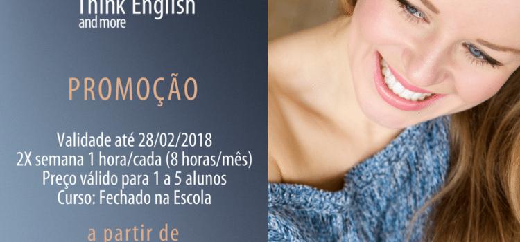 """Promoção """"Curso Fechado na Escola"""": A partir de R$299,00 p/aluno"""